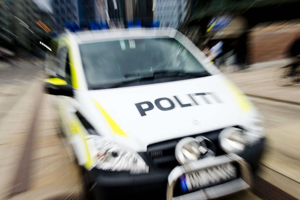 Illustrasjonsbilde av politibil-