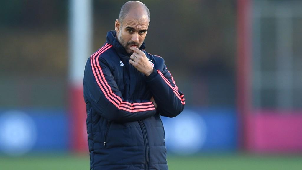 TIL ENGLAND? Pep Guardiola kobles til flere engelske klubber. Nå hevdes det at Chelsea ligger langflate etter spanjolen.