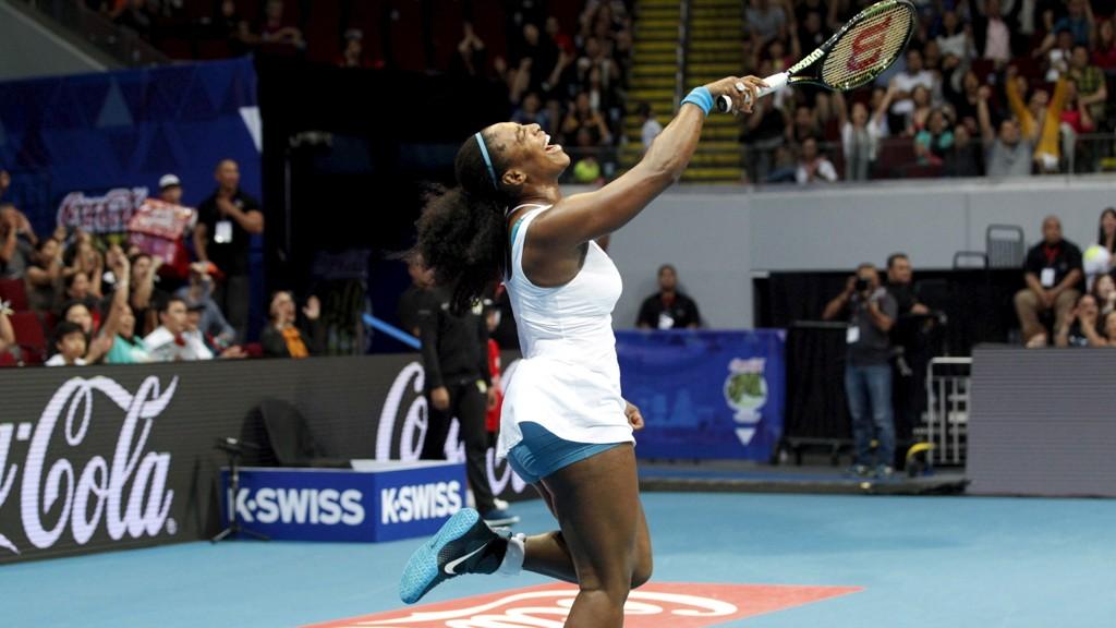 OVERLEGEN: Serena Williams ble kåret til årets kvinnelige tennisspiller