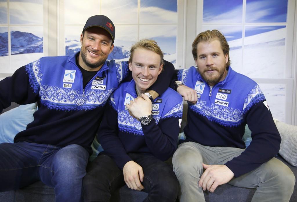 VERDENS BESTE: Aksel Lund Svindal, Henrik Kristoffersen og Kjetil Jansrud imponerer enormt denne sesongen.