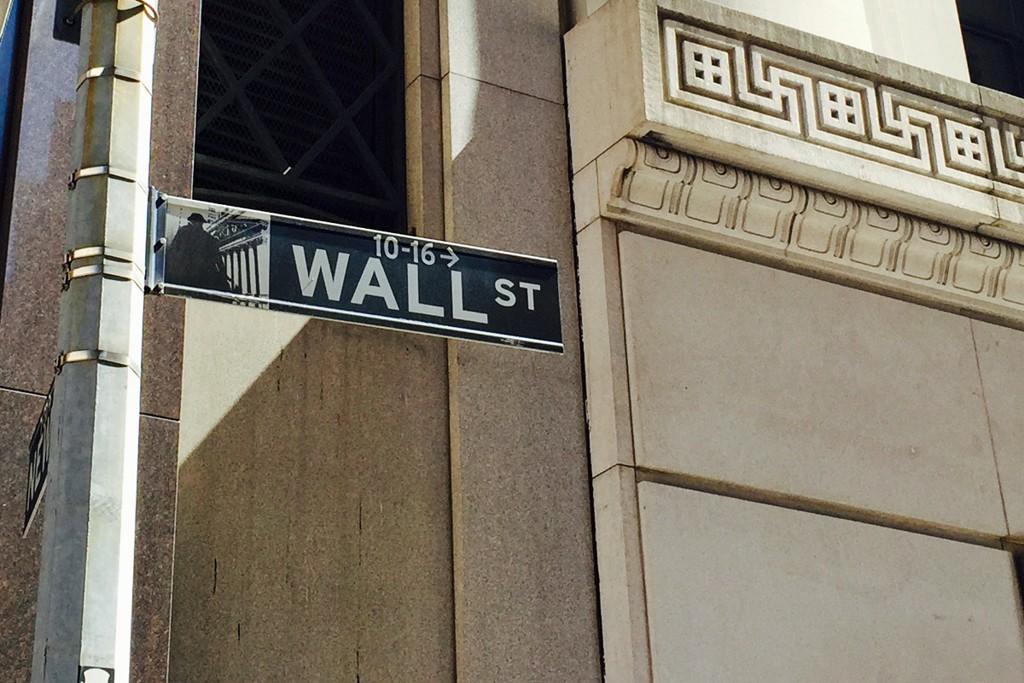 FINANSSENTRUM: Wall Street ligger i Financial District i New York og huser blant annet børsen.
