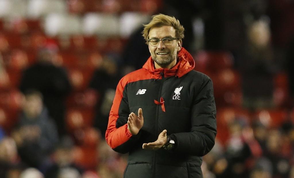 LIVERPOOLS MANAGER: Jürgen Klopp mener England ikke får suksess i mesterskap på grunn av det tøffe vinterprogrammet.