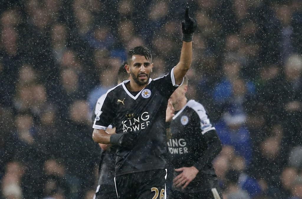 MATCHVINNER: Riyad Mahrez har vært en viktig bidragsyter til Leicesters fantastiske sesong.