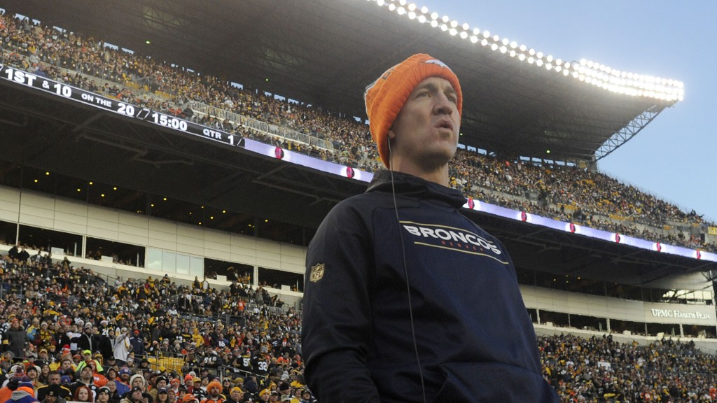 JUKSET? En rapport hevder at Peyton Manning brukte veksthormoner for noen år siden. Dette er ulovlige stoffer.