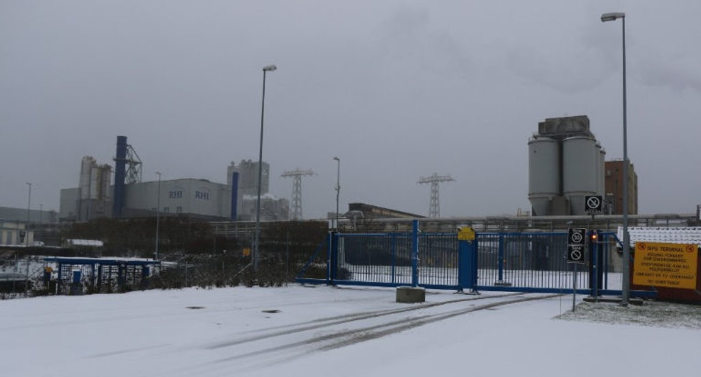 Eksplosjon på Herøya 3. juledag.