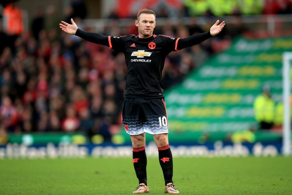 FRUSTRASJON: Wayne Rooney og Manchester United hadde en horribel kamp på Boxing Day.
