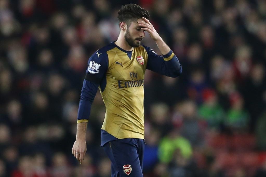 KJEMPETAP: Arsenal ble smadret av Southampton med 4-0 på Boxing Day.