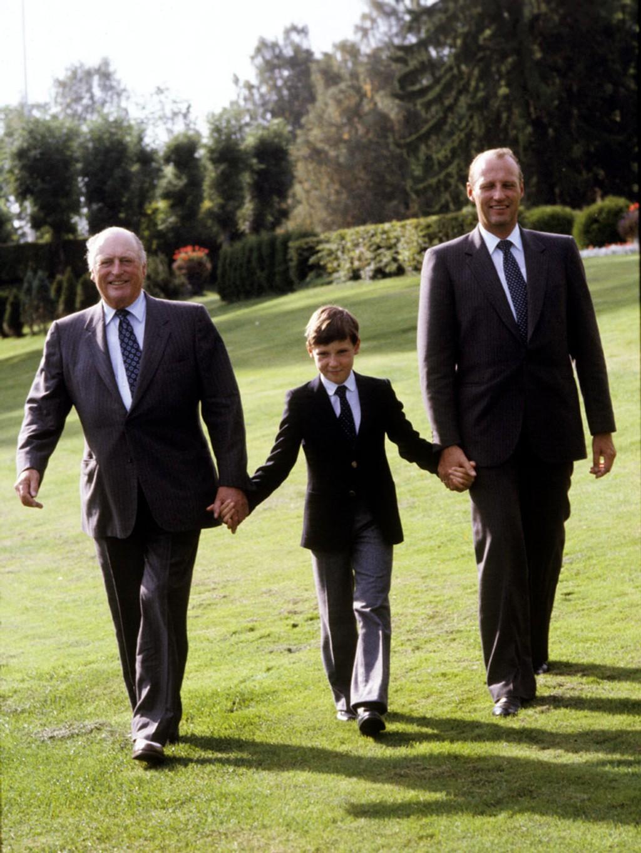 King Philippe, Queen Mathilde, King Albert II, Queen Paola, Prince Laurent