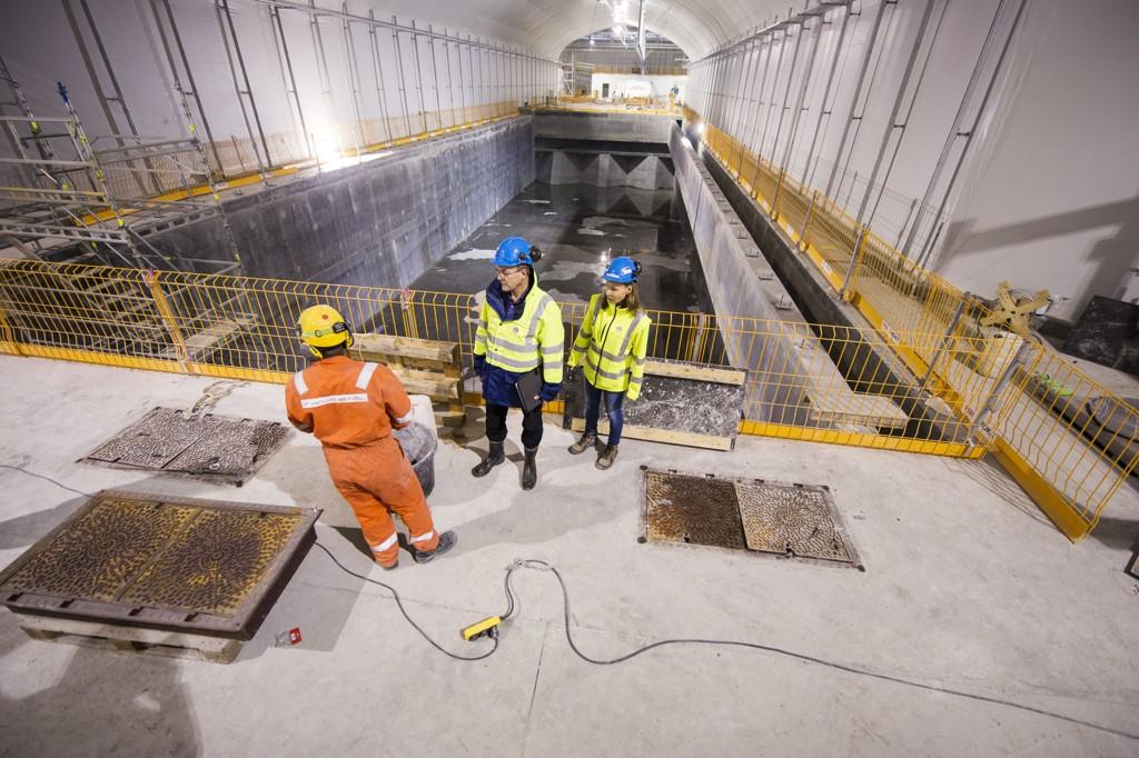 KLOAKKRENSEANLEGG: Bergen er i full gang med å ferdigstille sine kloakkrenseanlegg. Tre av dem er i bruk, mens det fjerde vil stå ferdig til høsten.
