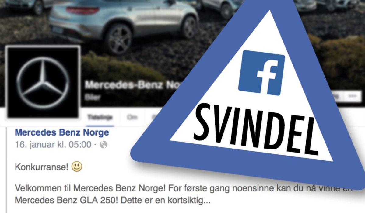 Den siste tiden har tusenvis av nordmenn har latt seg lure av falske Facebook-konkurranser som tilsynelatende gir bort gratis biler i millionklassen. Illustrasjon: Mats Brustad
