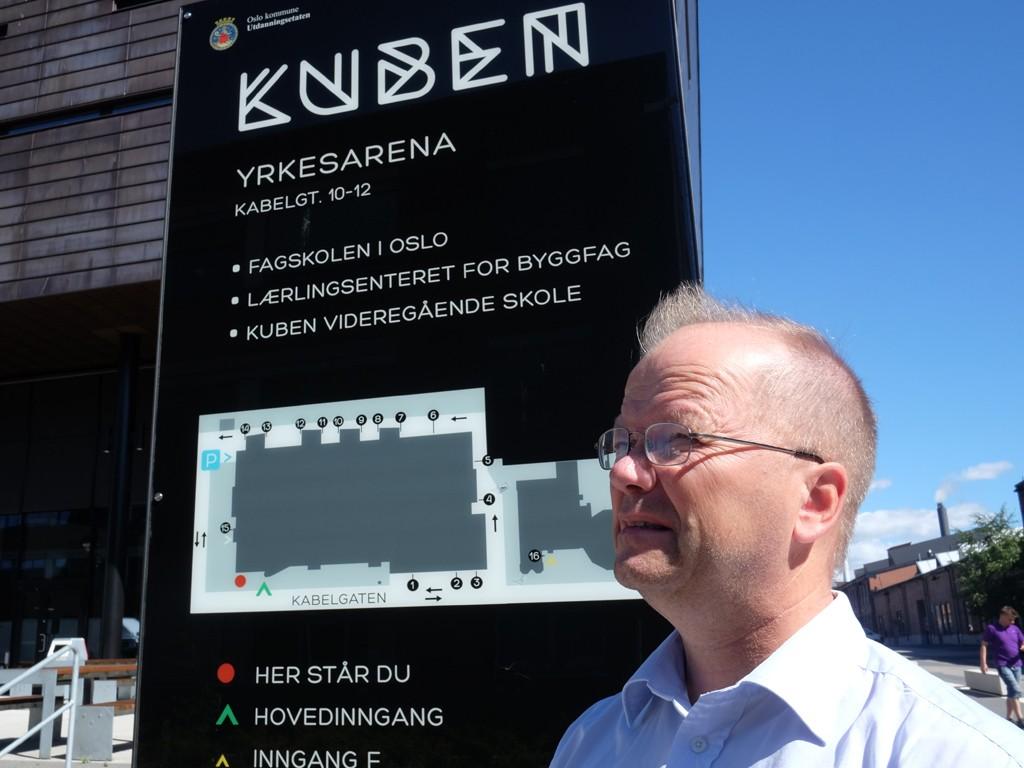 TILBUD KONTORJOBB: Max Hermansen er tilbudt kontorjobb på Kuben i Oslo.