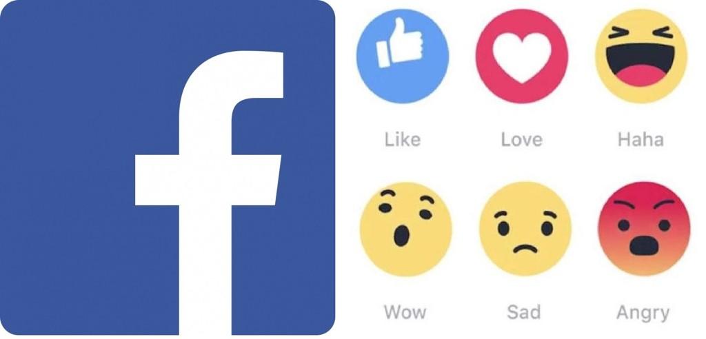 FLERE REAKSJONER: Nå skal du kunne reagere mer personlig på Facebook. Foto: Facebook