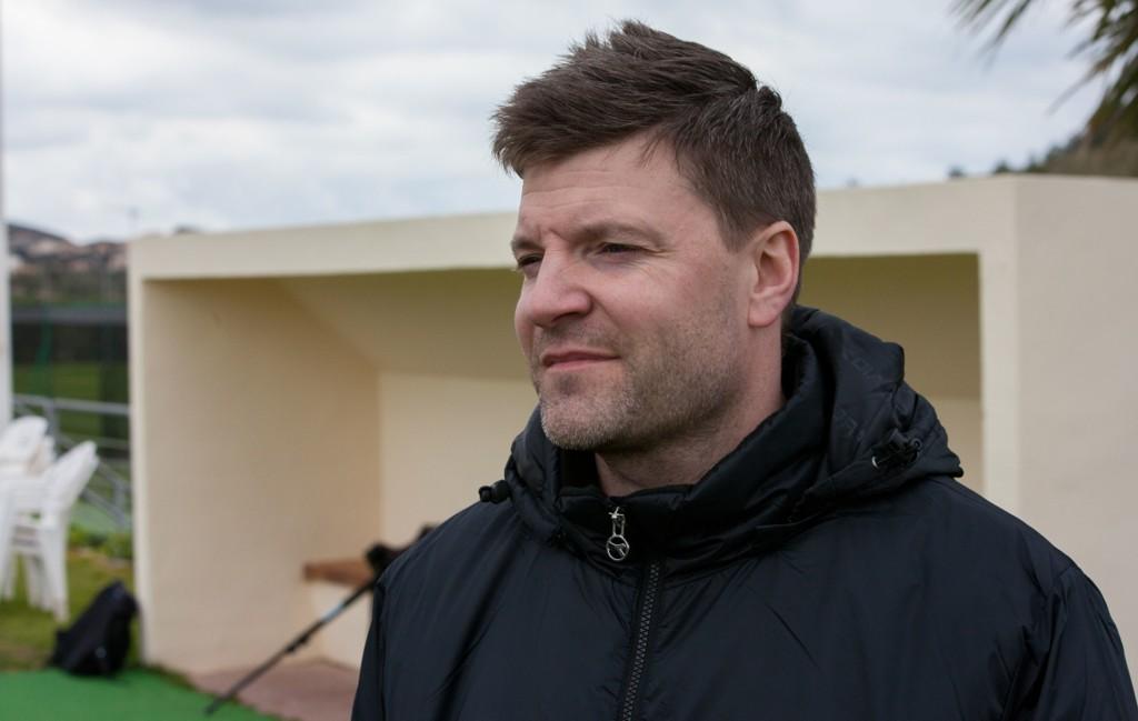 FORNØYD: Bodø/Glimt-trener Aasmund Bjørkan er glad for at klubben har sikret seg Ruslan Babenko.