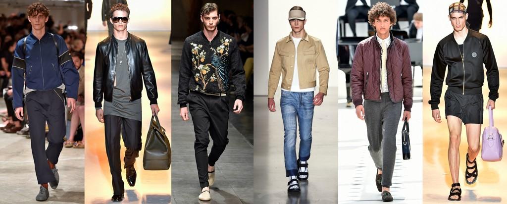 Prada, Versace, Dolce & Gabbana, Calvin Klein, Burberry, Versace. Foto: Getty