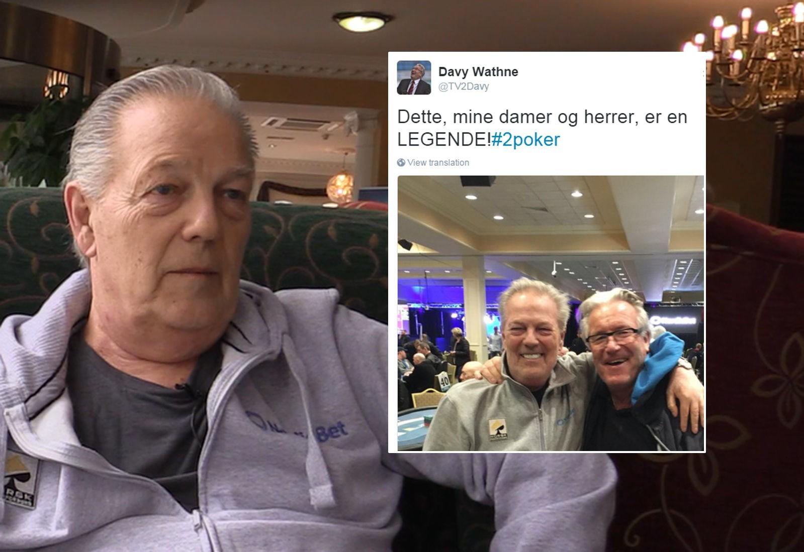 DAVY WATHNE satte pris på å møte Thor Hansen under poker-NM i Dublin. Følelsen var gjensidig.