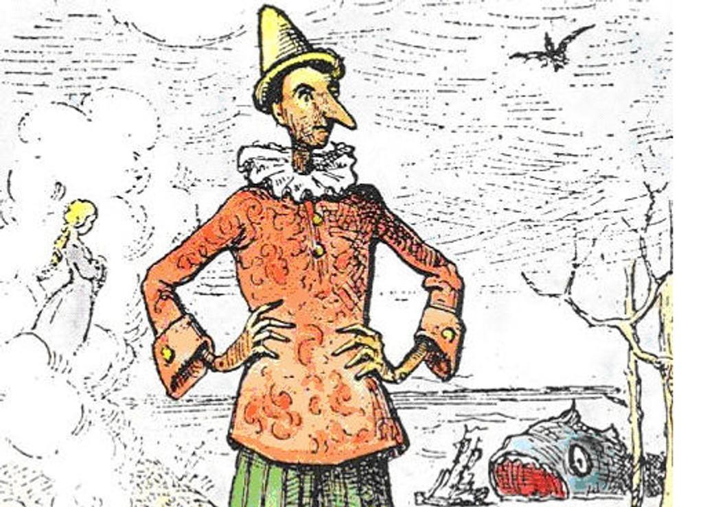 ANNERLEDES: Den originale Pinocchio er slett ikke like søt og likandes som Disneys versjon.