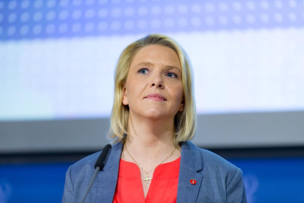 MØTER MOTSTAND: Innvandrings- og integreringsminister Sylvi Listhaug (Frp) møter motstand i Stortinget på flere av innstramningspunktene.