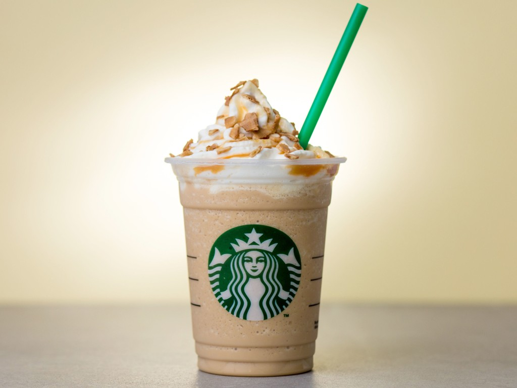 Caramel Waffle Cone Frappuccino- ikke for sommerkroppen!