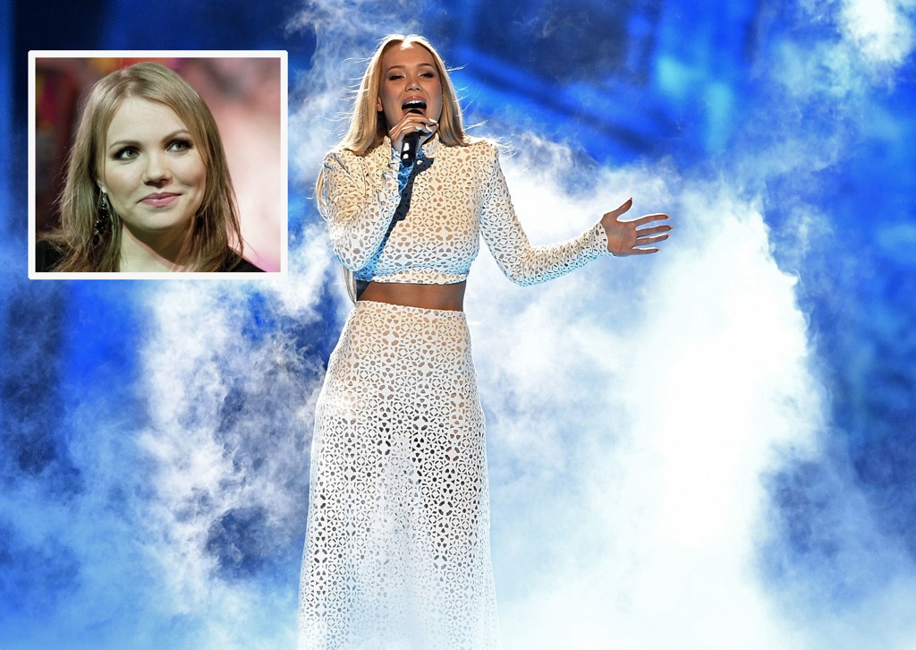 STØTTER: Lene Marlin har lagt ut en personlig støtte til Agnete Johnsen foran kveldens semifinale i Globen, Stockholm.