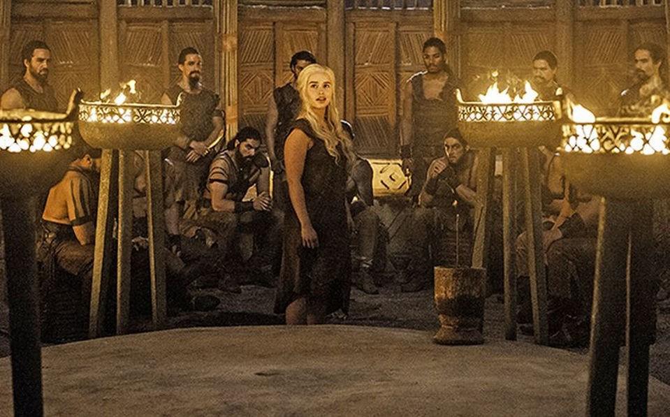 Daenarys «Khaleesi» Targaryen i en av de heftigste scenene i Game of Thrones denne sesongen.
