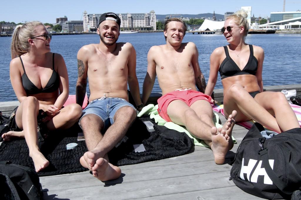 nakenbading i norge pule damer