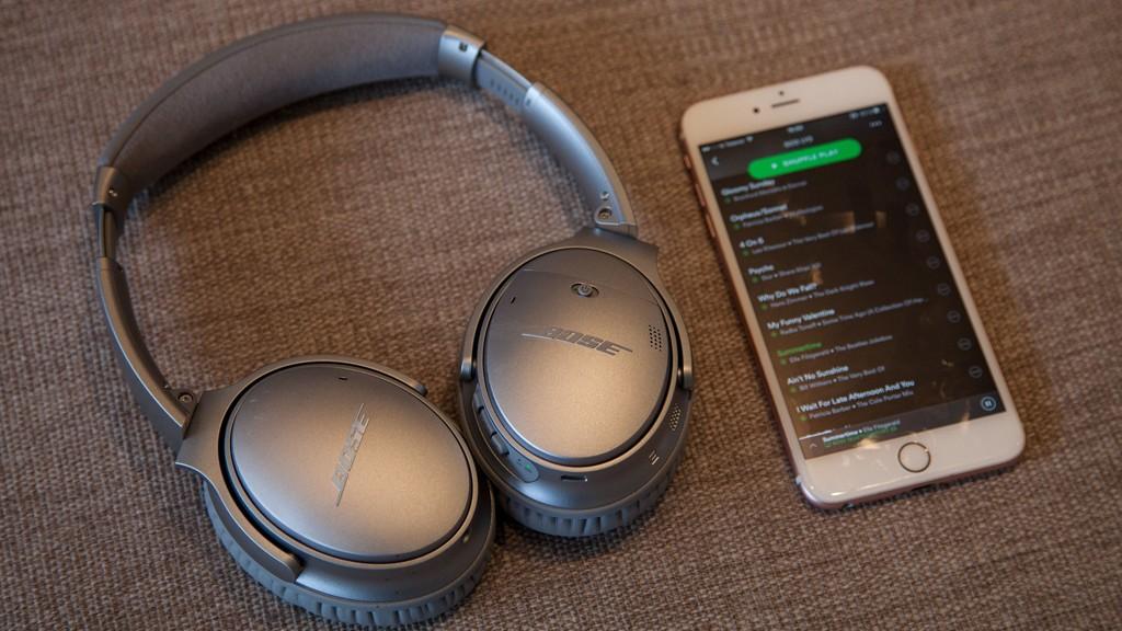hodetelefoner til trening bluetooth