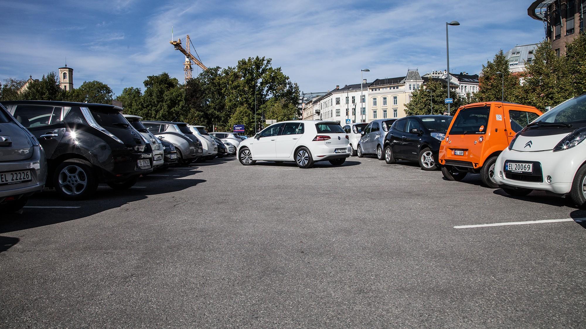 gratis parkering elbil