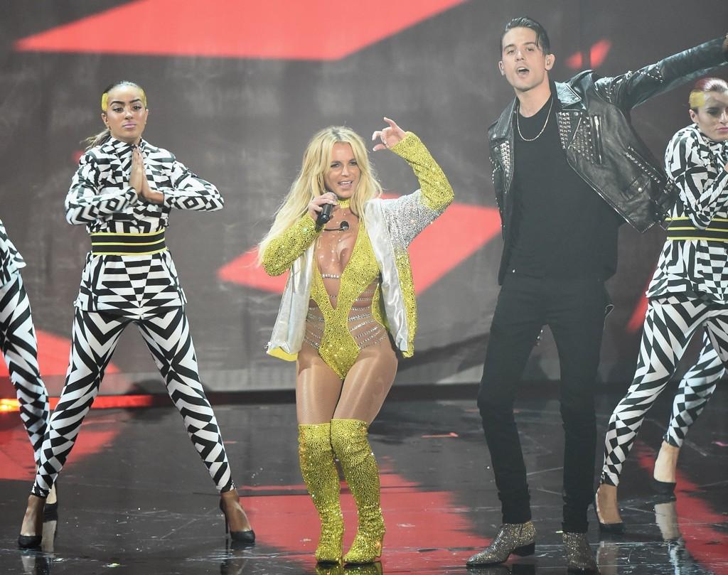 TILBAKE: Men Britney Spears imponerte ikke.