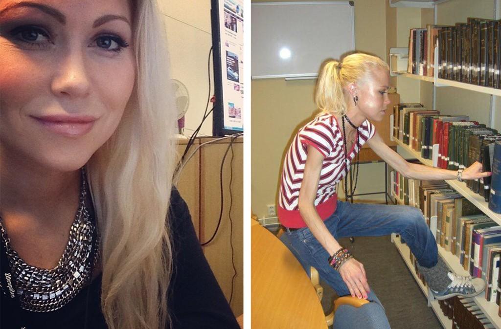 FACEBOOK-FARSOTT: - Det finnes sikkert mye finere ungdomsbilder av meg. Men hva er vitsen med en minne-utfordring om den ikke kan gjøre litt nytte for seg, spør Aftenposten-journalist Ingeborg Senneset.