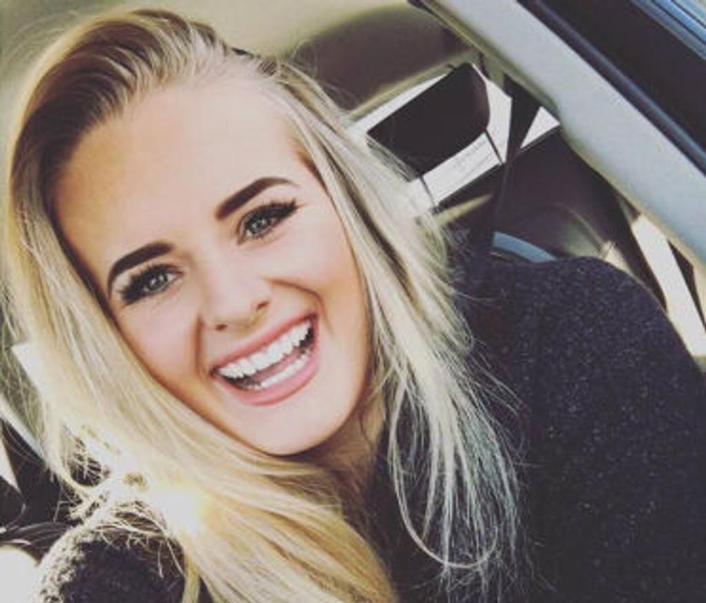 BLOGGER: Martine Halvorsen blogger om mange ulike temaer.