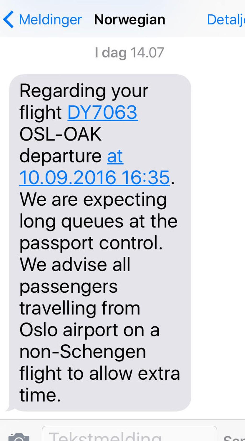 passkontroll gardermoen schengen