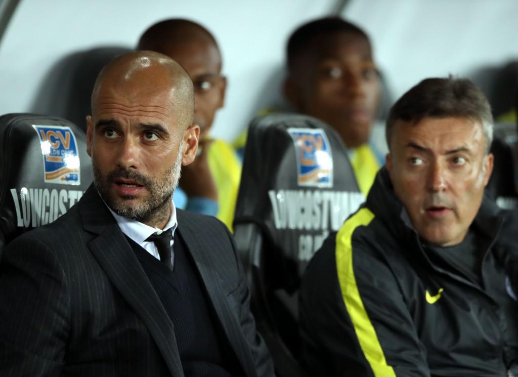 MISTER VIKTIG MANN. Josep Guardiola må fortsatt klare seg uten Vincent Kompany.