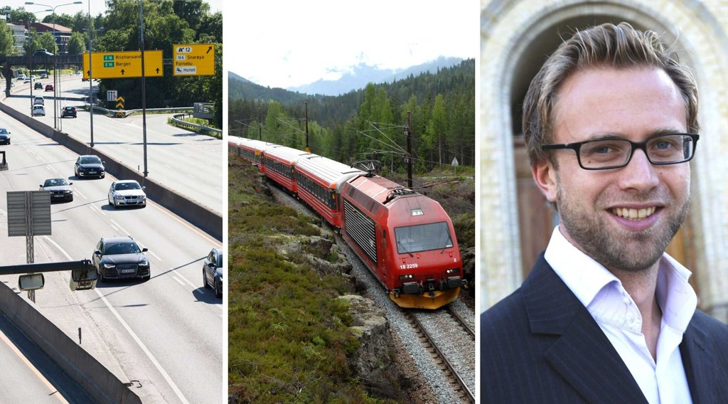 VINNERE OG TAPERE: Bilistene vinner, jernbanen taper foreløpig, og rike politikere som Høyres Nikolai Astrup kan vente en betydelig skattelette.