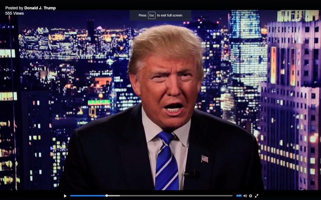 Republikanernes presidentkandidat Donald Trump rykket ut med dennne videoen der han beklager sine uttalelser i 2005.