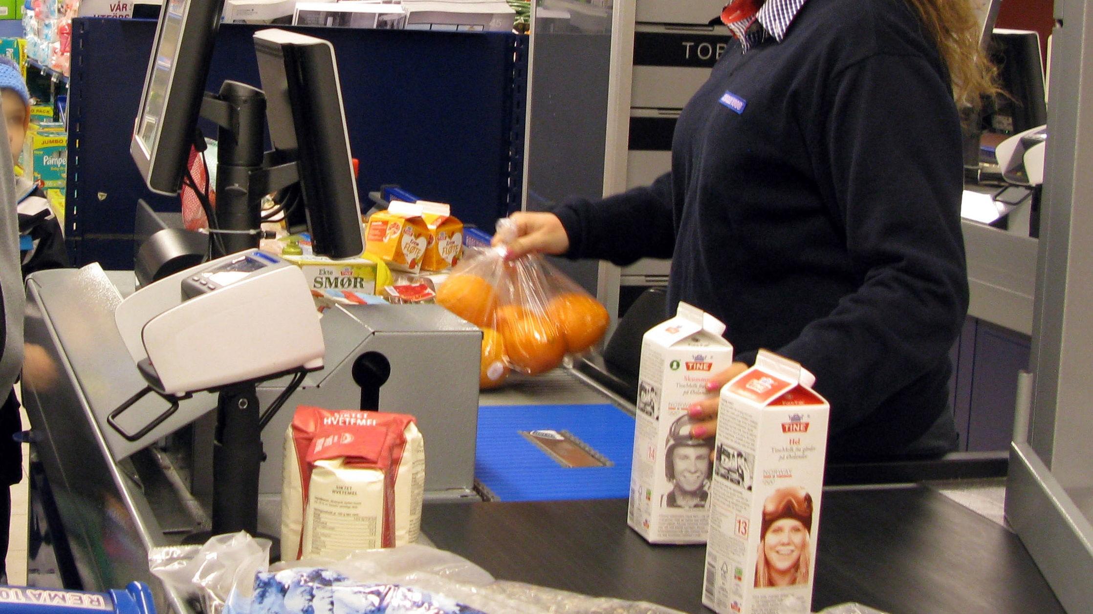 Det er 97% sannsynlighet for at automatiseringen kan gjøre hele yrket med å sitte i kassa på butikken overflødig.