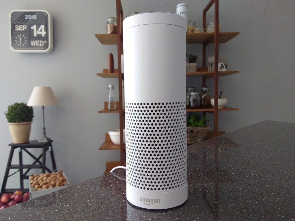 AMAZON ECHO: Hvis du eier en slik høyttaler, vil du kunne få strømme musikk billig i løpet av kort tid.