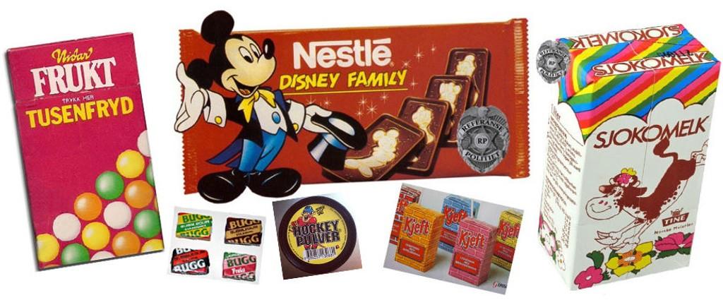 NOSTALGI: Dette er noen av produktene vi elsket på 1980- og 1990-tallet.