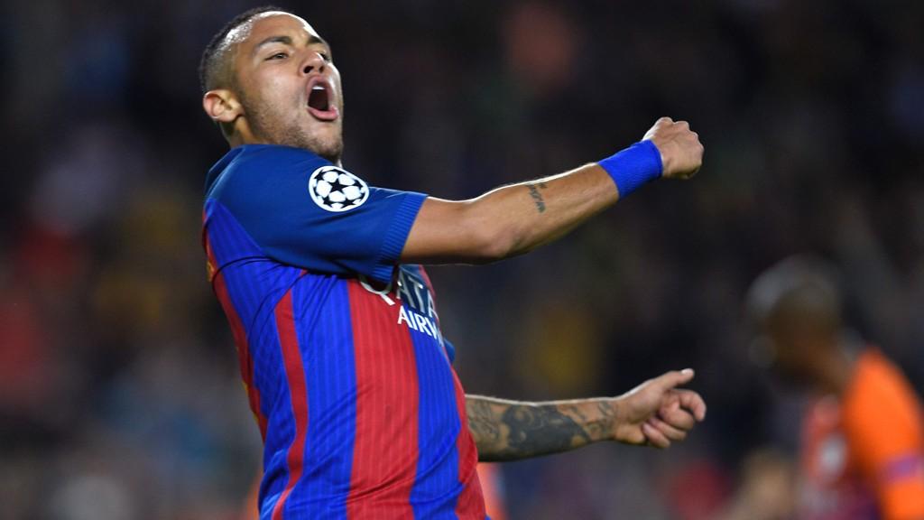 NY KONTRAKT: Neymar har signert en ny avtale med Barcelona frem til 2021.