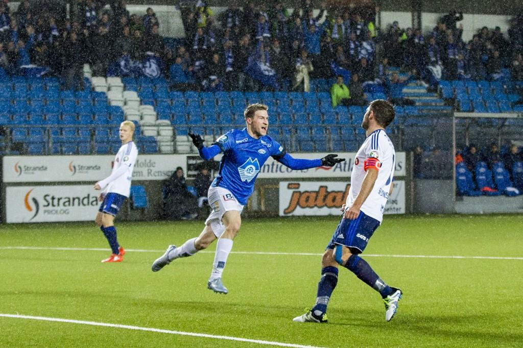 Scoret Joshua Gatt Scoret Moldes Forste Mal Mot Stabaek