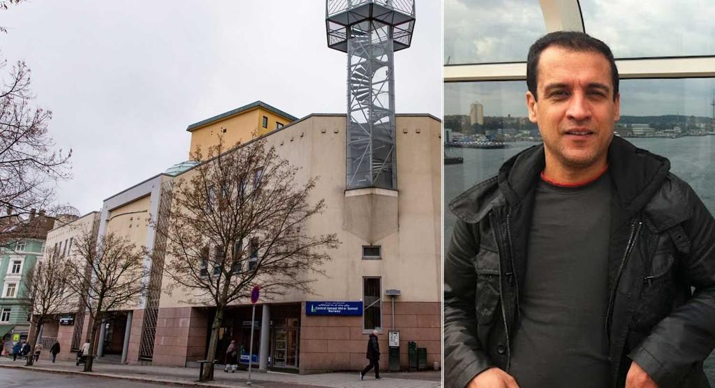 ETTERLYSER KONTROLL: Forsker Masoud Ebrahimnejad etterlyser kontroll med norske moskeer. Central Jamaat Ahl-e- Sunnat i Oslo er Norges største moské.