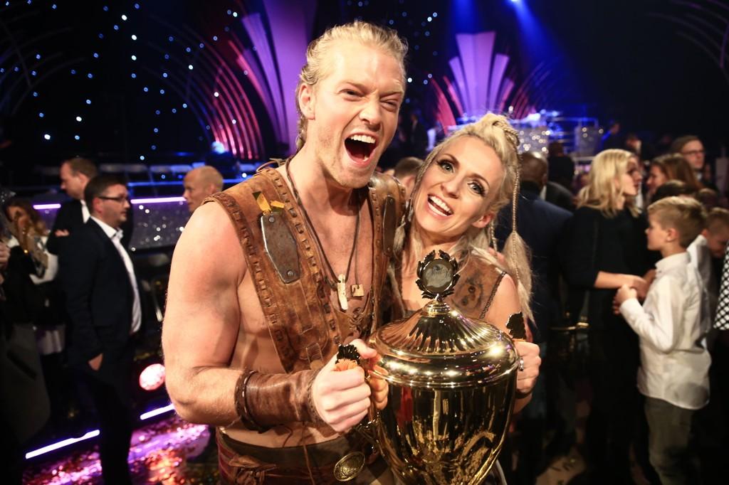 Eilev Bjerkerud og dansepartner Nadya vant «Skal vi danse».