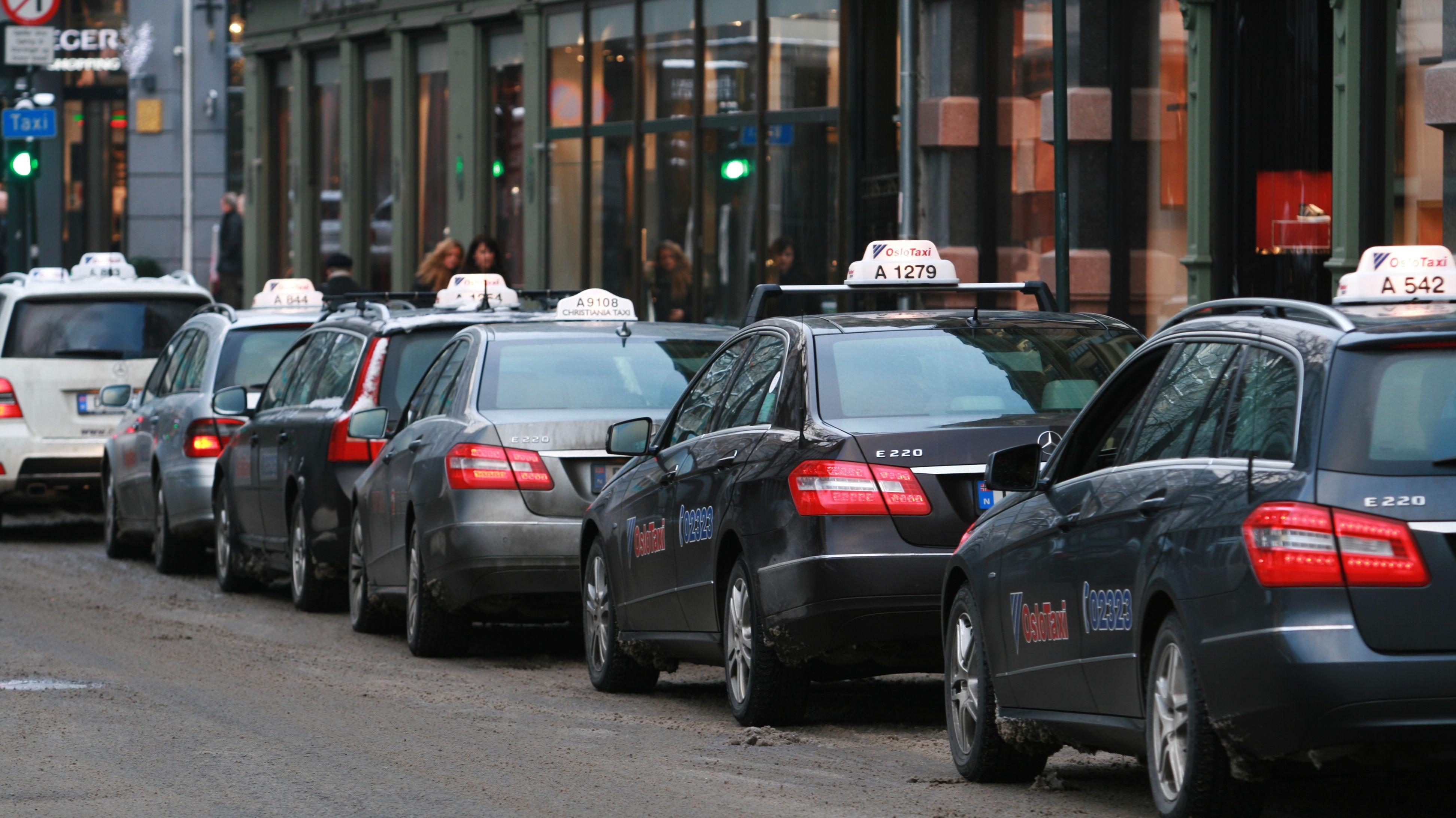 ulovlig bestyring drosjeløyve