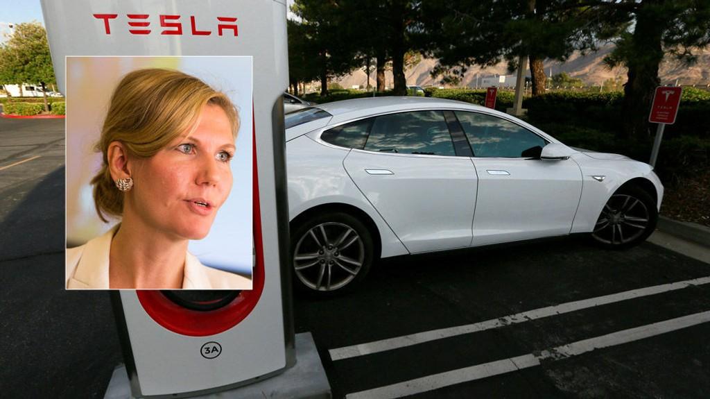 ELBILSTØTTE: Arbeiderpartiet vil sette et tak på elbilstøtten. - Det er på tide å sette en grense for subsidieringen av luksusbiler, sier Marianne Marthinsen.