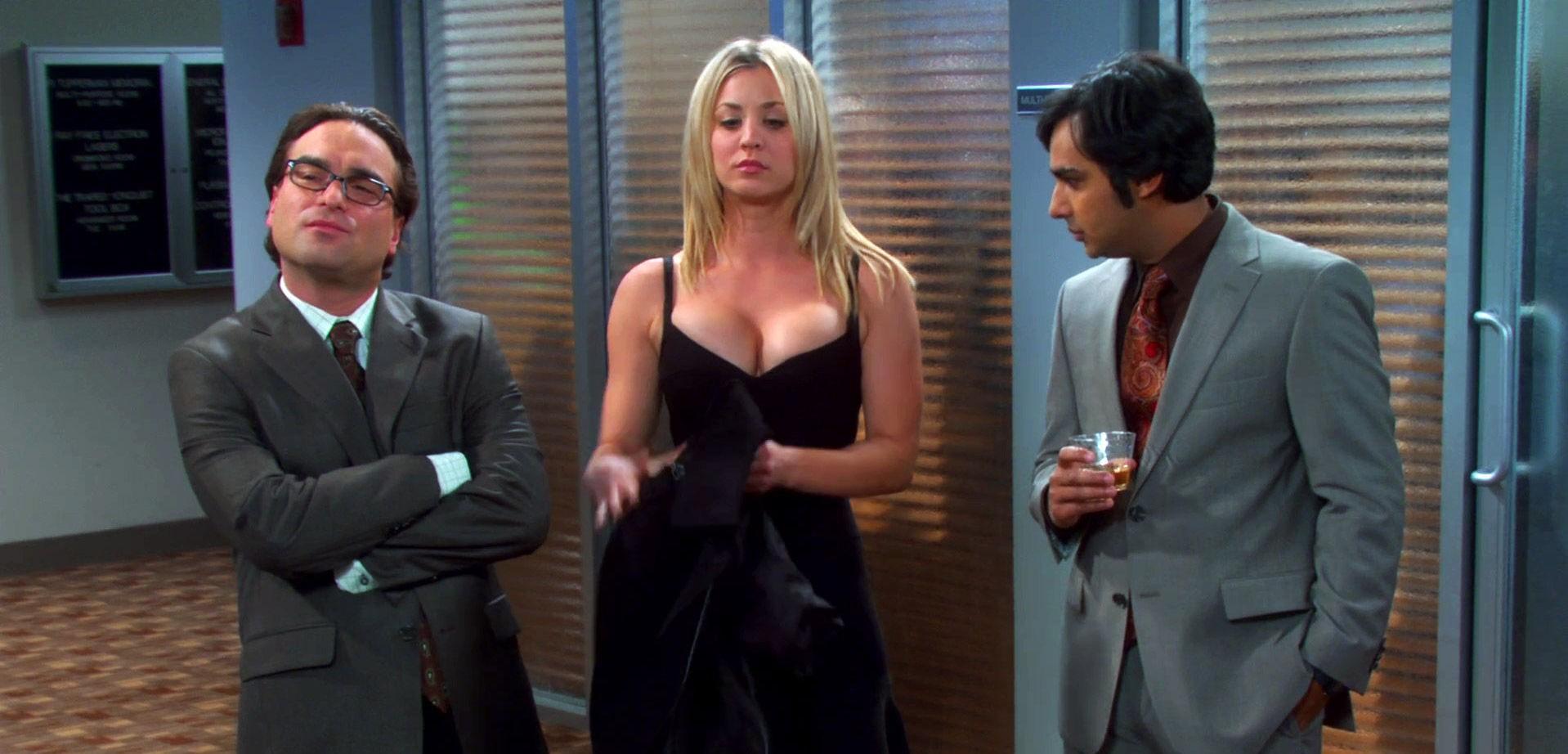 NERDENES SEXSYMBOL: «Big Bang»-stjernen Kaley Cuoco anses som en av verdens mest sexy kvinner. Serien er ikke fremmed for å spille Kaleys fordeler ...