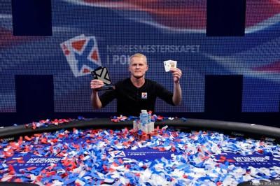 NORGESMESTER: Harstadværingen Preban Stokkan kan smile bredt etter det ble klart at han er Norges beste pokerspiller i 2016 og nesten 1,5 millioner kroner rikere.