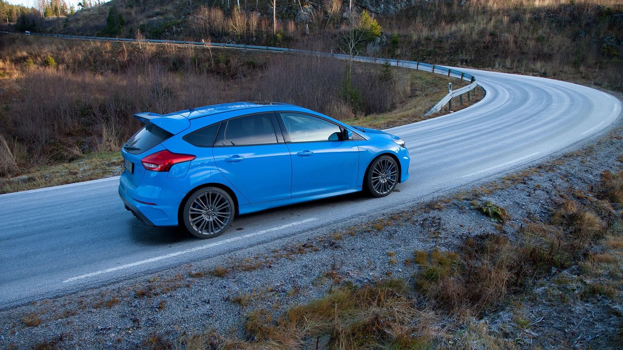 GLEDEGENERATOR: Jo mer svingete, og jo mer utfordrende - jo bedre er Focus RS.