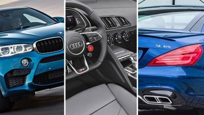 VERSTING: BMWs ekstreme SUV, X6 M, er en av bilene som kommer styrket ut av de nye bilavgiftene.