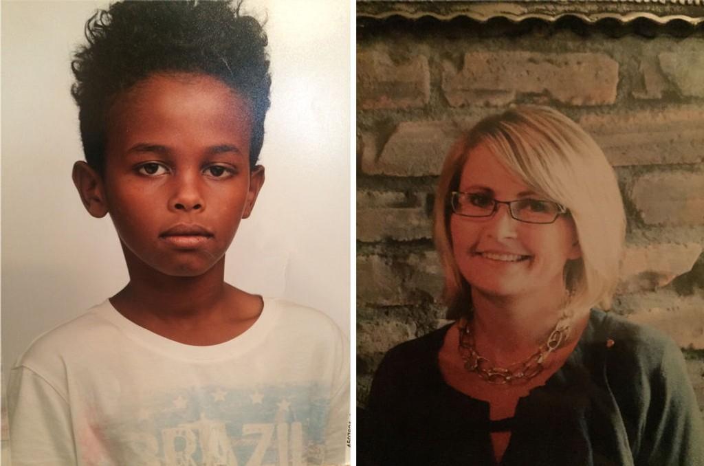 DREPT: Det var Jakob Abdullahi Hassan (14) og Tone Ilebekk (48) som ble drept av en eller flere ukjente gjerningspersoner utenfor en skole i Kristiansand mandag ettermiddag.