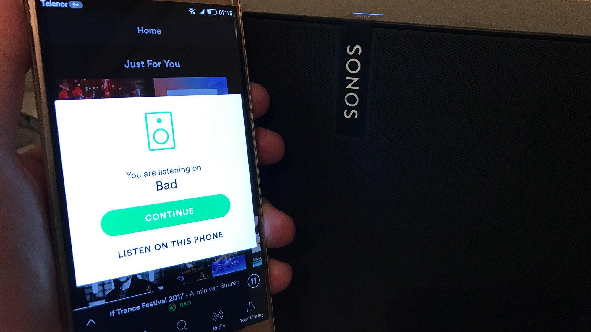 Sonos er kjent for gode trådløse høyttalere og elendig programvare. Nå kan du styre helt utenom Sonos-appen og spille musikken rett fra Spotify.