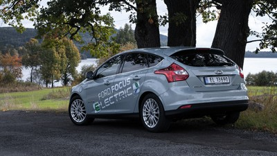 GLEMT ELBIL: Ford Focus Electric solgte svakt som nybil, nå har den blitt en ganske glemt bil i bruktmarkedet.